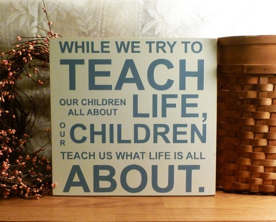 children teach about life