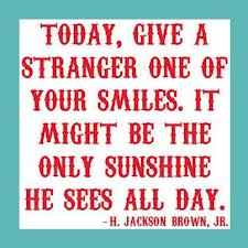 stranger a smile