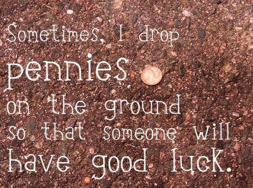 pennies luck