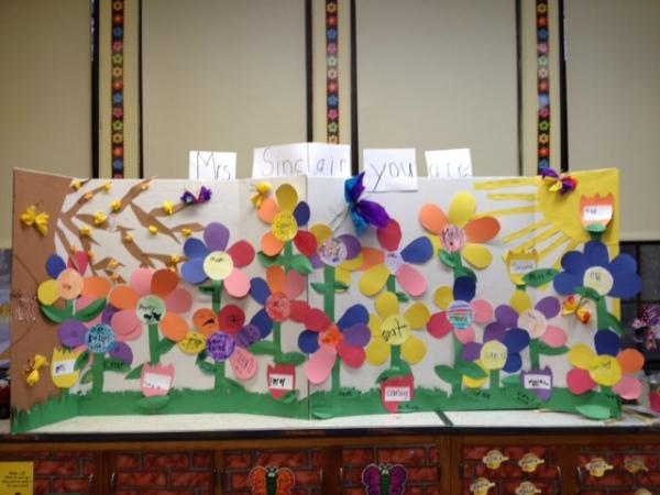 class flower project