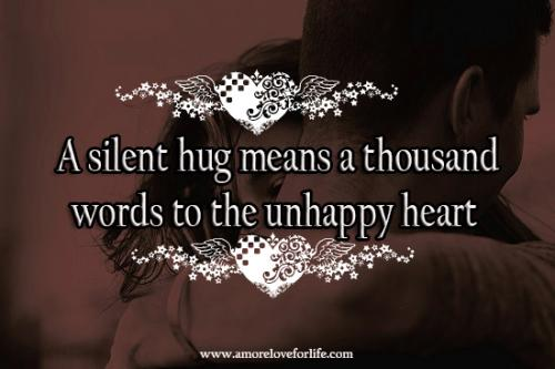 silent hug