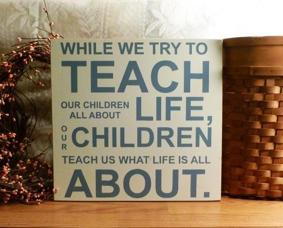 children teach about life