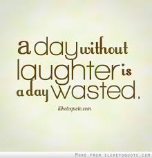 day without laughter