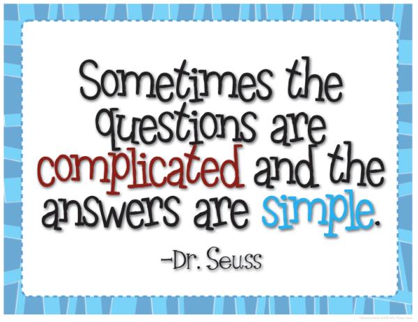dr seuss complicated