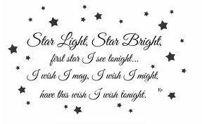 wish on star