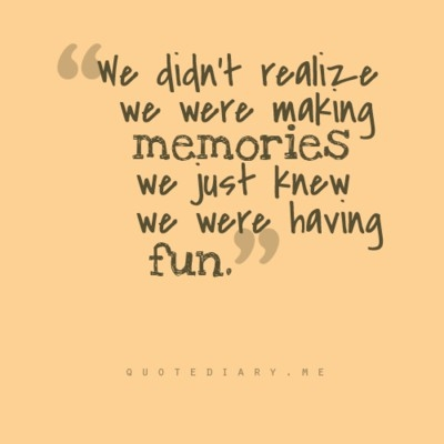 memories fun