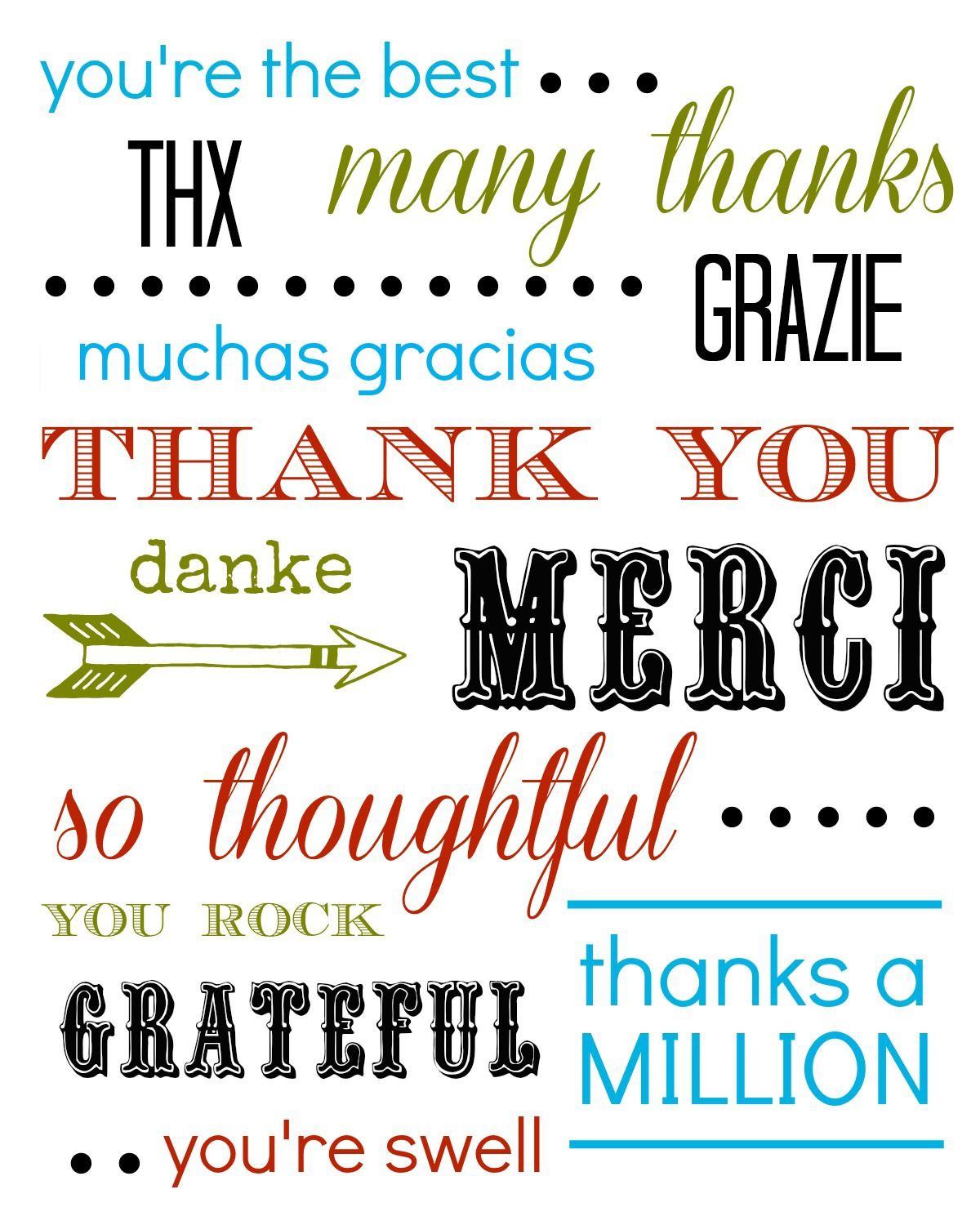 word 2013 thank you card