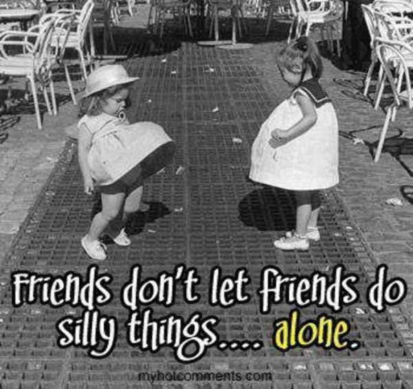 friends silly