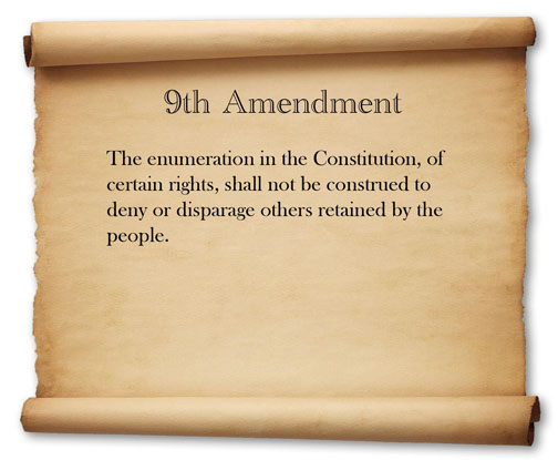 The 9th Amendment Images - Frompo