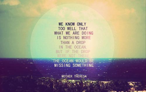 dropin the ocean