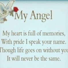 my angel mom