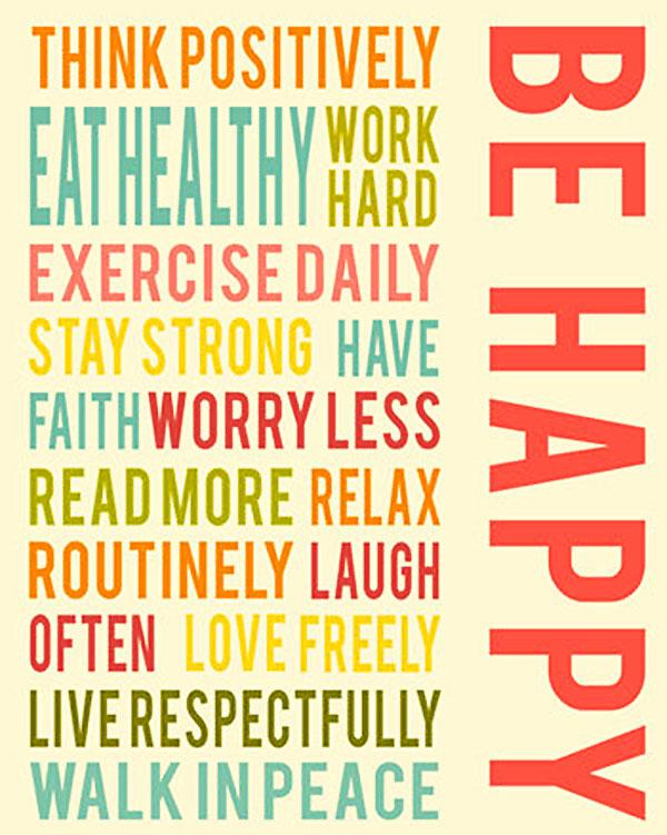 happy healhty quote