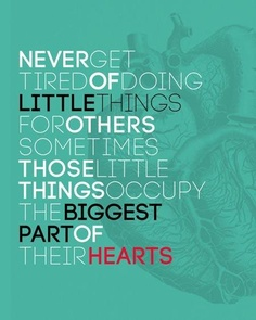 little things big hearts