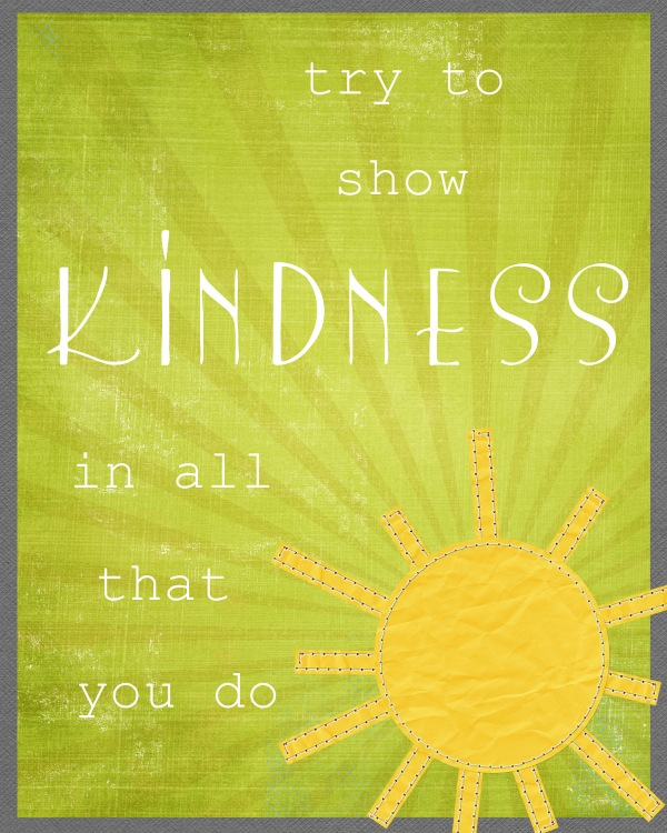 show-kindness-printable