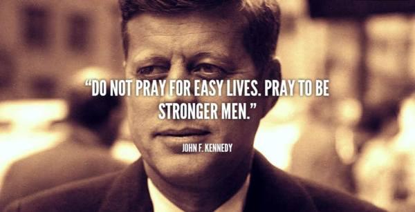 JFK strong