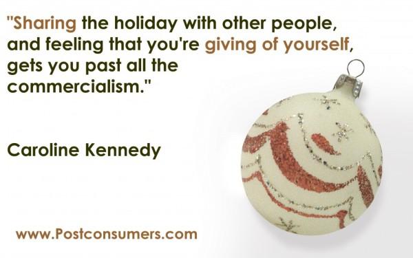 sharing the holiday
