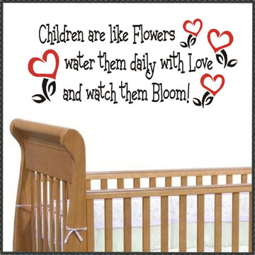 children are flowers