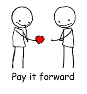 pay it forward heart