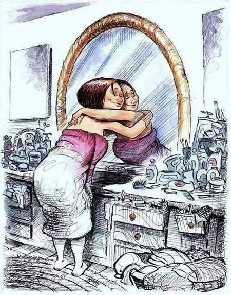 self image cartoon