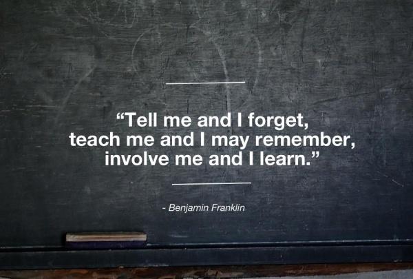tell me teach me