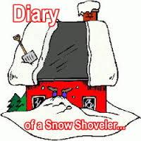 Diary of a snow shoveler