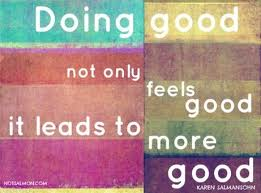 doing good feels good