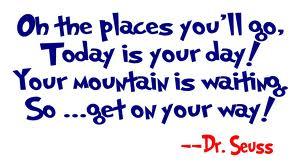 dr seuss places you'll go