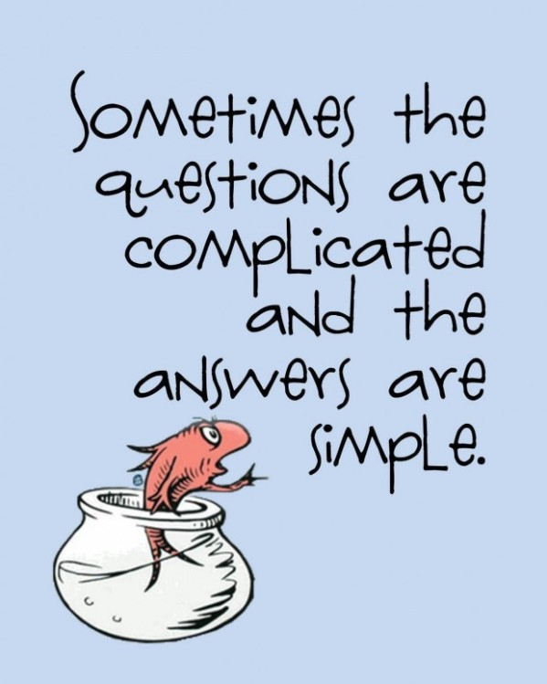 dr seuss questions