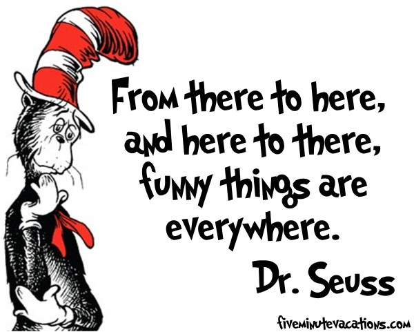 dr seuss funny things