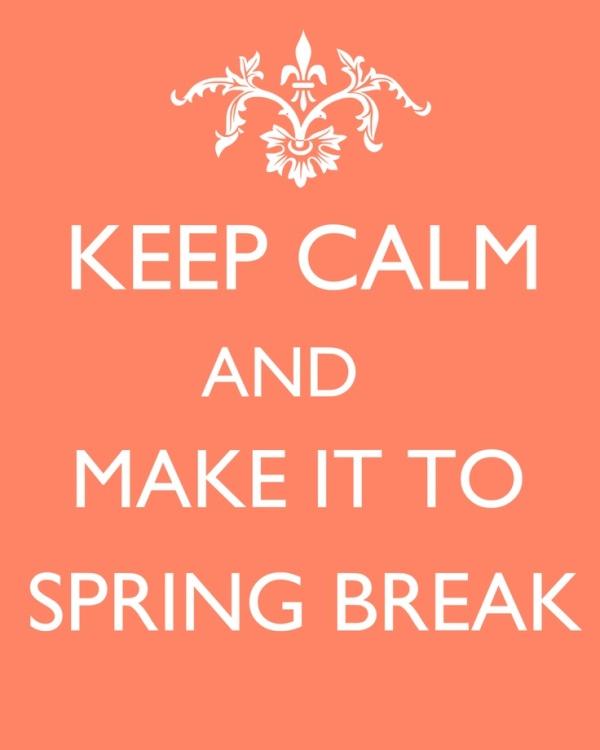 spring break waiting