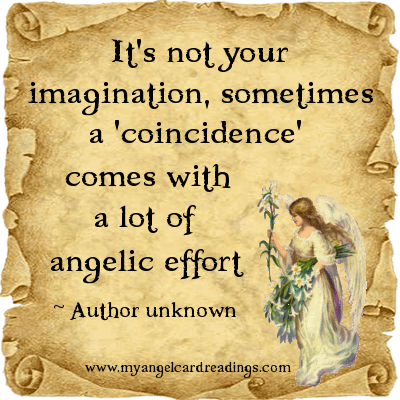 angelic coincidence
