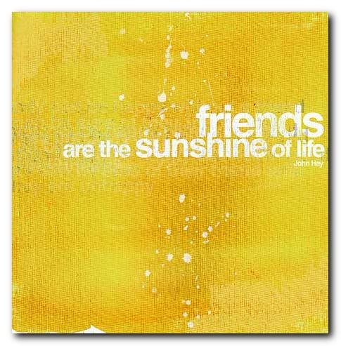 friends sunshine