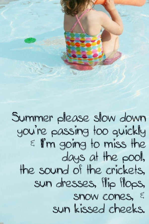 slow down summer