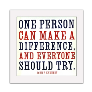 make a difference JFK