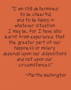 martha washington circumstances