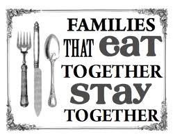 dinner family a project for kindness