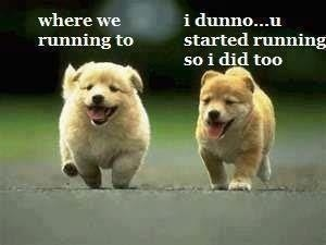 running with drew