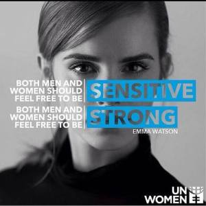 sensitive strong