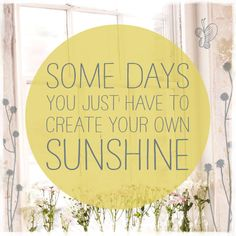 create sunshine