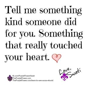something kind