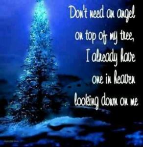 angel on tree