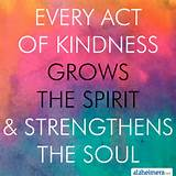 kindness grows the spirit