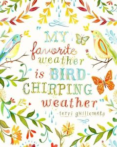 bird chirping weather