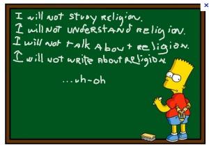 simpson religion
