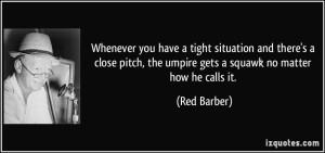 umpire quote
