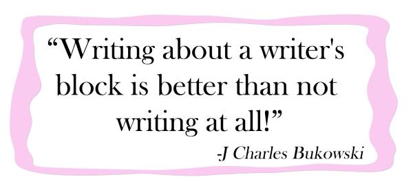 21 writers block